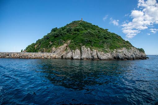 isole liguria isola di gallinara