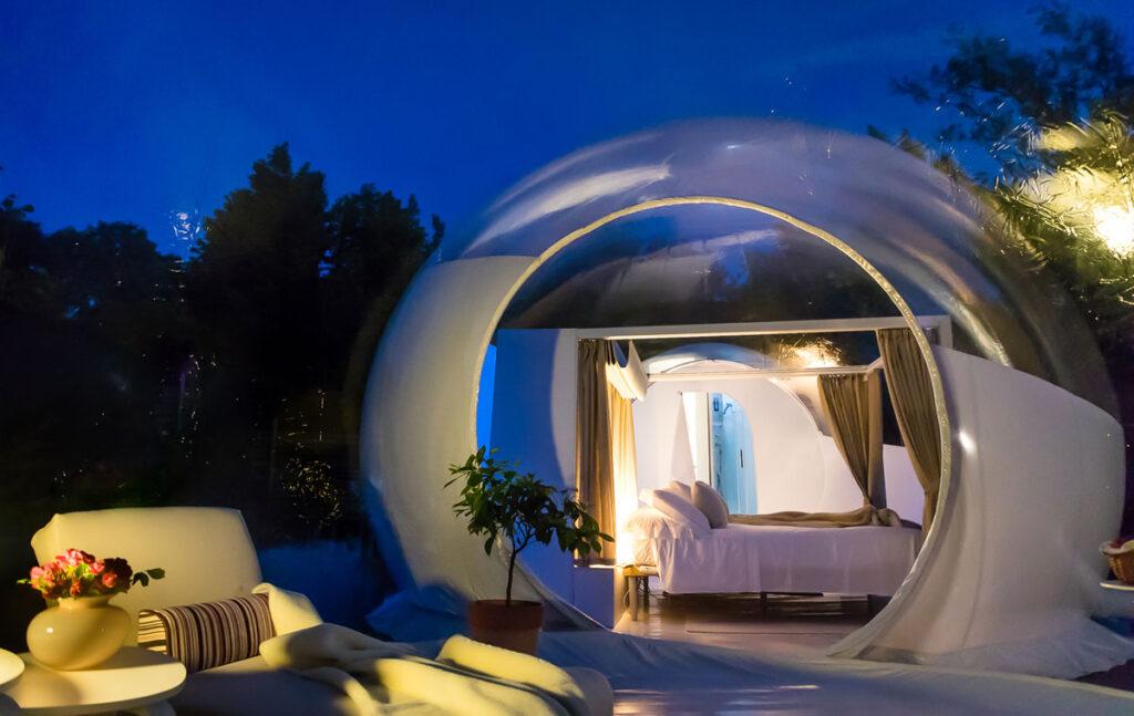 Bubble Luxury Emotion  bubble room piemonte