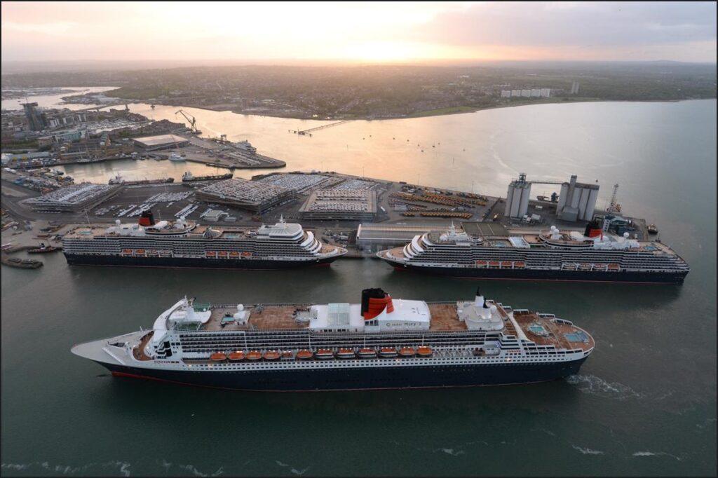 Cunard's Queens Queen Victoria Queen Mary